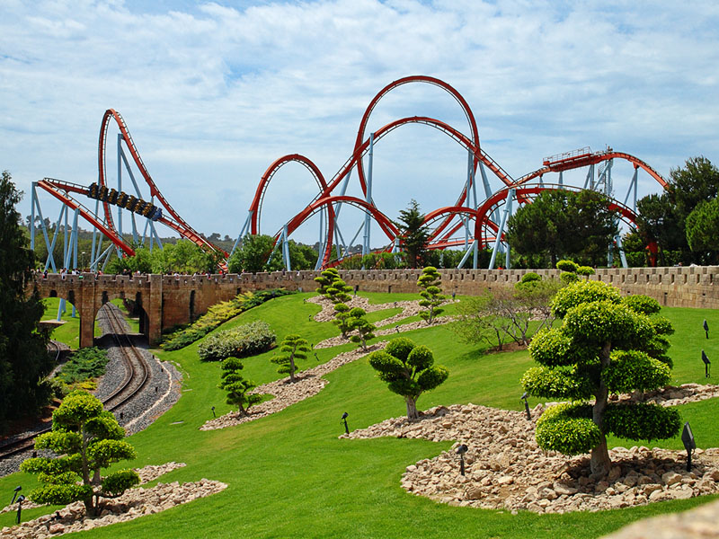 port aventura_Salou_Spain