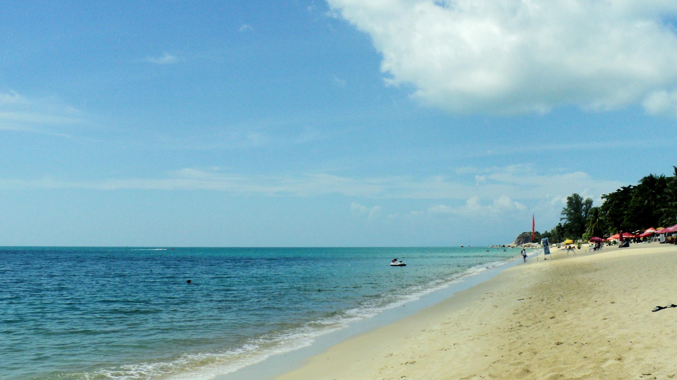 Пляж для отдыха с детьми на Самуи